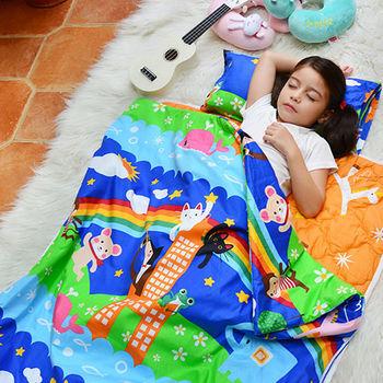 義大利Fancy Belle X Malis《童趣》韓式防蹣抗菌透氣防水兒童睡袋