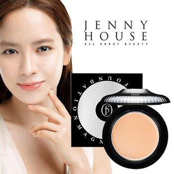 宋智孝愛用 韓國 Perfect Skin 磁力遮瑕保濕粉餅SPF50 附粉撲蕊*1(8g) JENNY HOUSE
