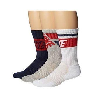 Nike2016男舒適DriFit黑灰白混搭運動襪3入組(預購)
