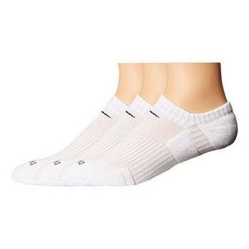 【Nike】2016男女舒適DRI-FIT白色低切運動襪3入組(預購)