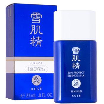 任-KOSE 高絲 雪肌精極效輕透防曬乳SPF50+/PA++++ 23ml