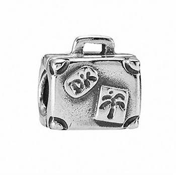 【Pandora】愛的行李箱925純銀墜飾串珠