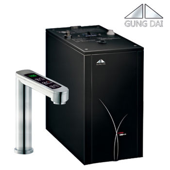 【GUNG DAI】GD-600 櫥下型觸控式雙溫飲水機 GD600+搭配愛惠浦QL3-BH2淨水器