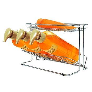 日本ASVEL纖細型不鏽鋼2層沐浴乳架
