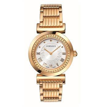 凡賽斯浮華世界玫瑰金腕錶