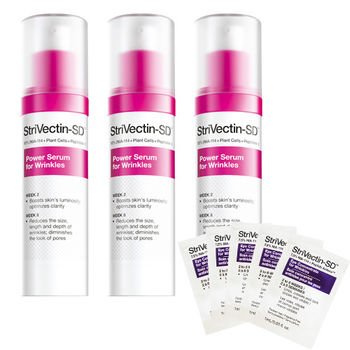 StriVectin 超級皺效能量賦活精華 7mlx3入組(贈超級皺效眼霜  1mlX5)