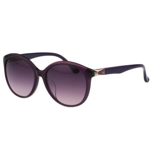 Calvin Klein- 時尚復古太陽眼鏡(紫色)