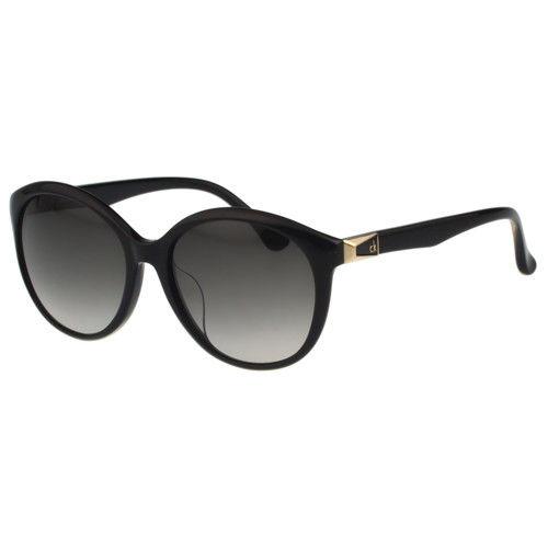 Calvin Klein- 時尚復古太陽眼鏡(黑色)