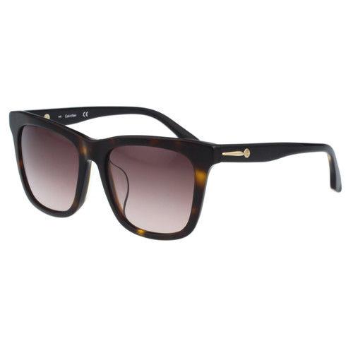 Calvin Klein- 時尚簡約太陽眼鏡(琥珀色)