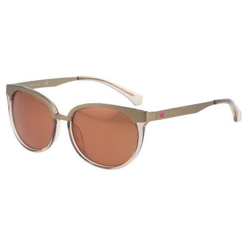 Calvin Klein- 復古雙色太陽眼鏡(金色)