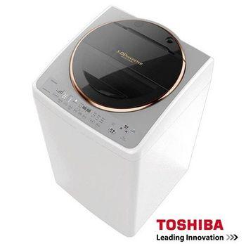 『TOSHIBA』☆ 東芝SDD變頻15公斤洗衣機 金鑽銀 AW-DME15WAG
