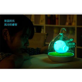 療癒系 觸碰好氛圍鳥籠燈 (溫暖藍光)