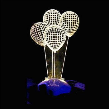 北歐3D立體 USB LED創意小夜燈-氣球