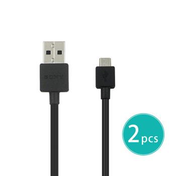 【2入組】SONY EC801 Micro USB 原廠傳輸線 傳輸充電線 (裸裝)