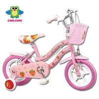 ~親親Ching Ching~12吋腳踏車 ^#40 粉色 ^#41 ^#45 草莓 ZS