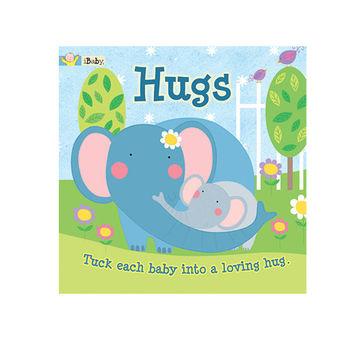 美國innovativeKids寶寶緞帶情境書-Hugs愛的抱抱