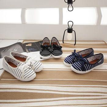 《DOOK》海洋風淺口娃娃鞋/好穿脫懶人鞋-3色
