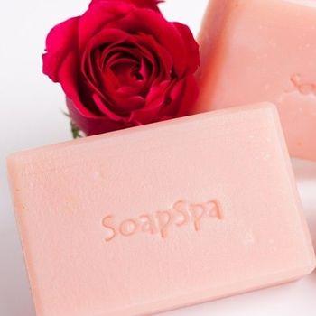 【SOAPSPA】玫瑰百合花香純露手工皂(150克5入特惠組)