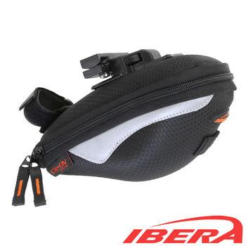 IBERA  自行車專用快扣半硬殼座墊包
