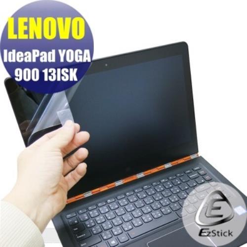 【EZstick】Lenovo YOGA 900 13 ISK 系列專用 靜電式筆電LCD液晶螢幕貼 (鏡面防汙螢幕貼)