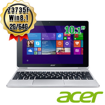 ACER 宏碁  Switch 10 SW5-015-155K 10.1吋FHD Z3735F 筆電 2G / 64G