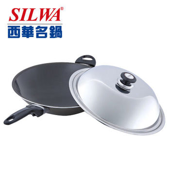 《西華Silwa》37cm冷泉科技合金炒鍋(單柄)