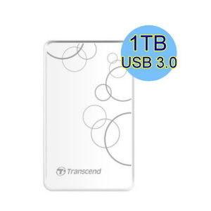 創見 SJ25A3W 1TB 2.5吋 外接硬碟