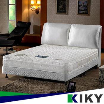 【KIKY】一代法式輕柔型透氣乳膠獨立筒雙人床墊5尺