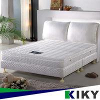 ~KIKY~ 美式服貼輕柔型獨立筒雙人床墊5尺 彈簧床墊~