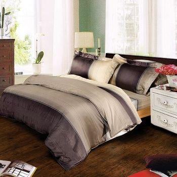 夢工場 歲月靜好天絲四件式兩用被床包-加大