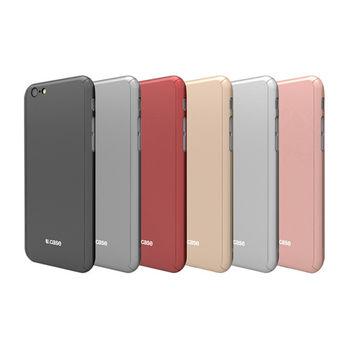 【U.case】Apple iPhone 6/6S Plus全包覆保護殼(含鋼化玻璃貼)