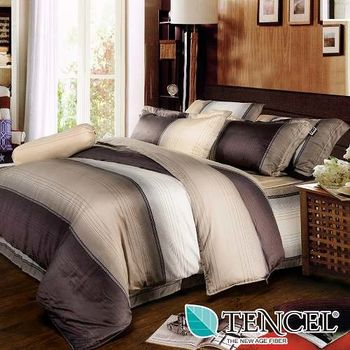 夢工場 歲月靜好天絲五件式中式寢具組-雙人