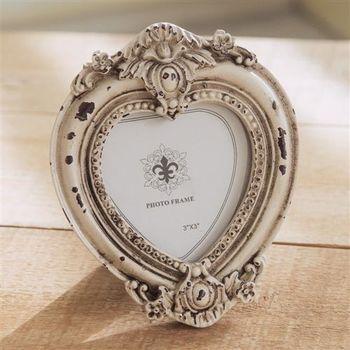 【ZARATA】創意家飾品-復古立體愛心做舊相框
