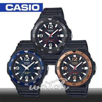 【CASIO 卡西歐】大鏡面4.7cm_旋轉錶圈錶圈_太陽能_防水_男錶_中性錶(MRW-S310H)