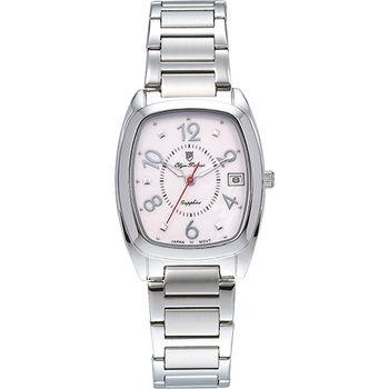 Olym Pianus 奧柏表 時尚佳人簡約流行石英腕錶-粉/30mm 5666-1MS