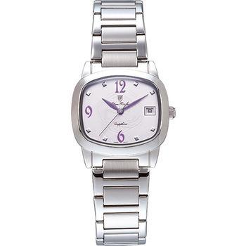Olym Pianus 奧柏表 時尚佳人簡約流行石英腕錶-粉/30mm 5667-1MS