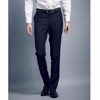 【WELLCUT】歐洲精品剪裁修身西褲(黑)