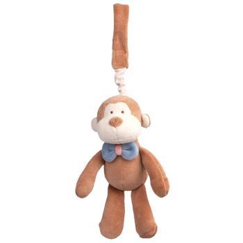 美國miYim有機棉推車吊掛娃娃 布布小猴