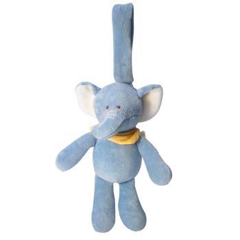美國miYim有機棉推車吊掛娃娃 芬恩象象