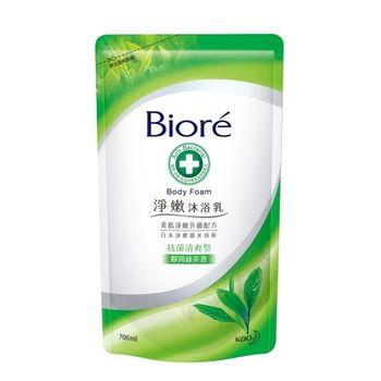蜜妮 淨嫩沐浴乳 抗菌清爽型 靜岡綠茶香補充包700ml
