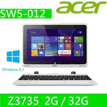 ACER Aspire Switch 10 2in1變形平板筆電(SW5-012-15H8)