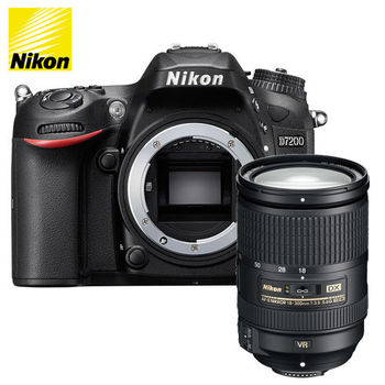 Nikon D7200 Body + 18-300mm f/3.5-5.6G AF-S DX IF ED VR (公司貨)