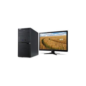 Acer 宏碁 Veriton M6640G-029 i7-6700四核 8GB記憶體 Win7Pro 桌上型電腦+G227HQL 21.5吋電腦螢幕(黑) 超值組