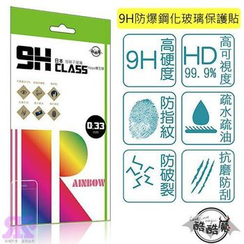 酷酷魔 HTC M8 9H鋼化玻璃保護貼