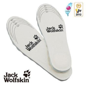 【采棉居寢飾文化館】Jack Wolfskin飛狼男用足呼吸抗菌鞋墊