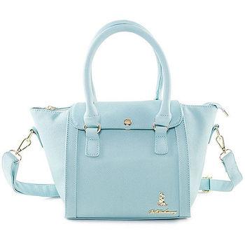 冰山袋鼠 日系春色好感系列蓋扣蝙蝠包-9001-青蘋綠