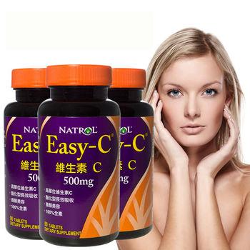 即期良品_Natrol 維生素C錠 (90錠x三瓶組)