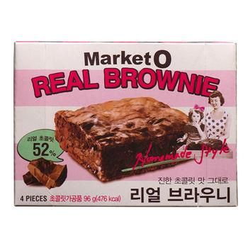 【Market O】布朗尼蛋糕(96gx6盒)