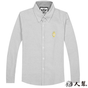 【男人幫】S5160 必備款牛津防皺長袖襯衫
