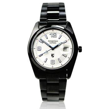 【Arseprince】天際指向電能飛行腕錶-白色
